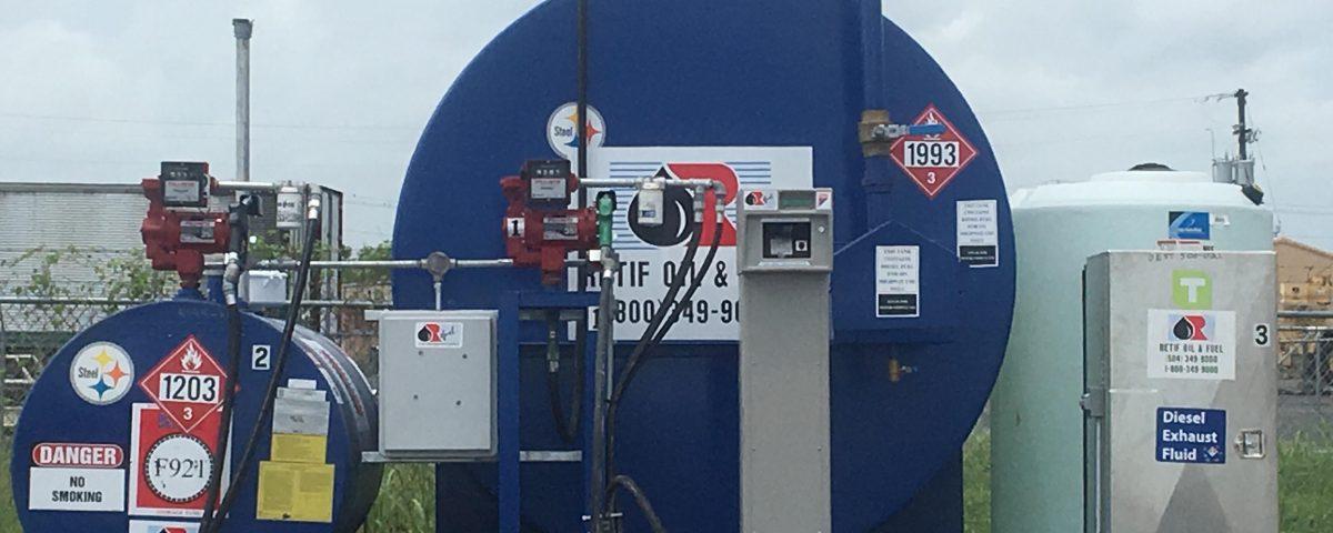 On-Site Fuel Management System