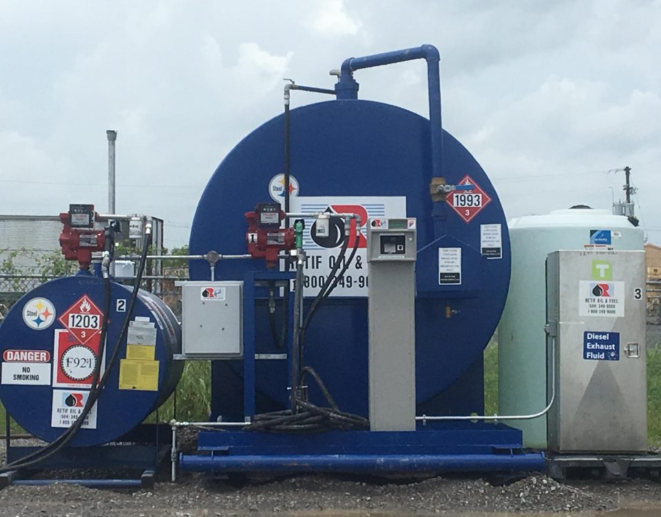 On-Site Fuel Management System